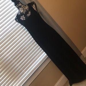 Apt 9 Black Maxi Dress